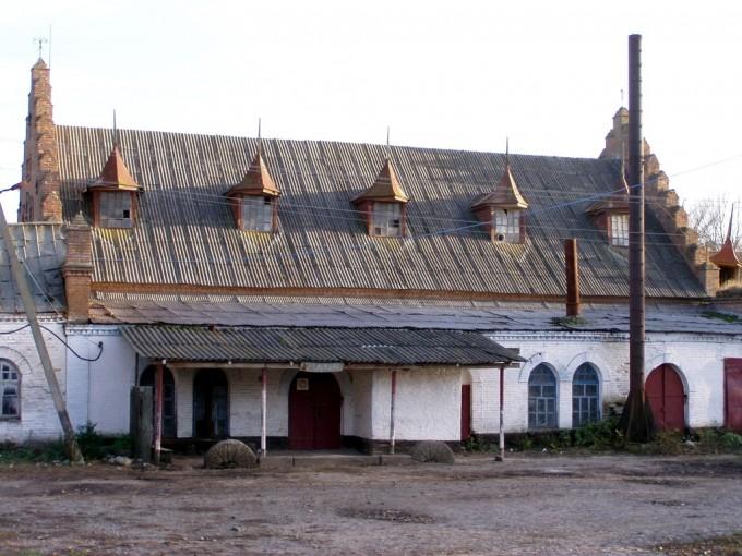 Паровий млин в с. Козацьке, Звенигородського району