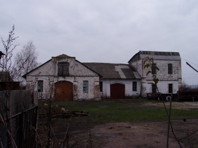 Паровий млин з господарськими спорудами м. Кам'янка (колишня Покровська економія)