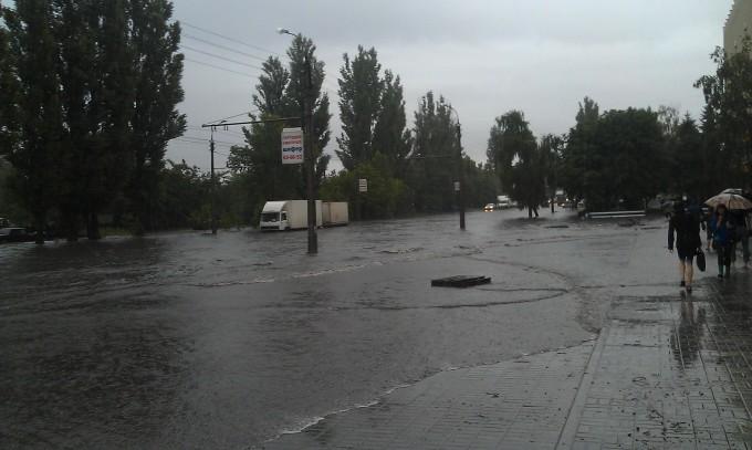 вул. Сумгаїтська, біля ТрансГазу