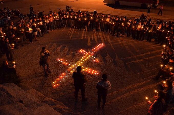 День пам'яті загиблих мотоциклістів в Черкасах